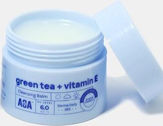 AOA Skin Green Tea + Vitamin E Cleansing Balm