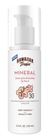 Hawaiian Tropic Mineral Sun Milk Lotion SPF30
