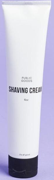 Public goods Shaving Cream (Old Peppermint Formula)