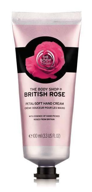 The Body Shop British Rose Hand Cream