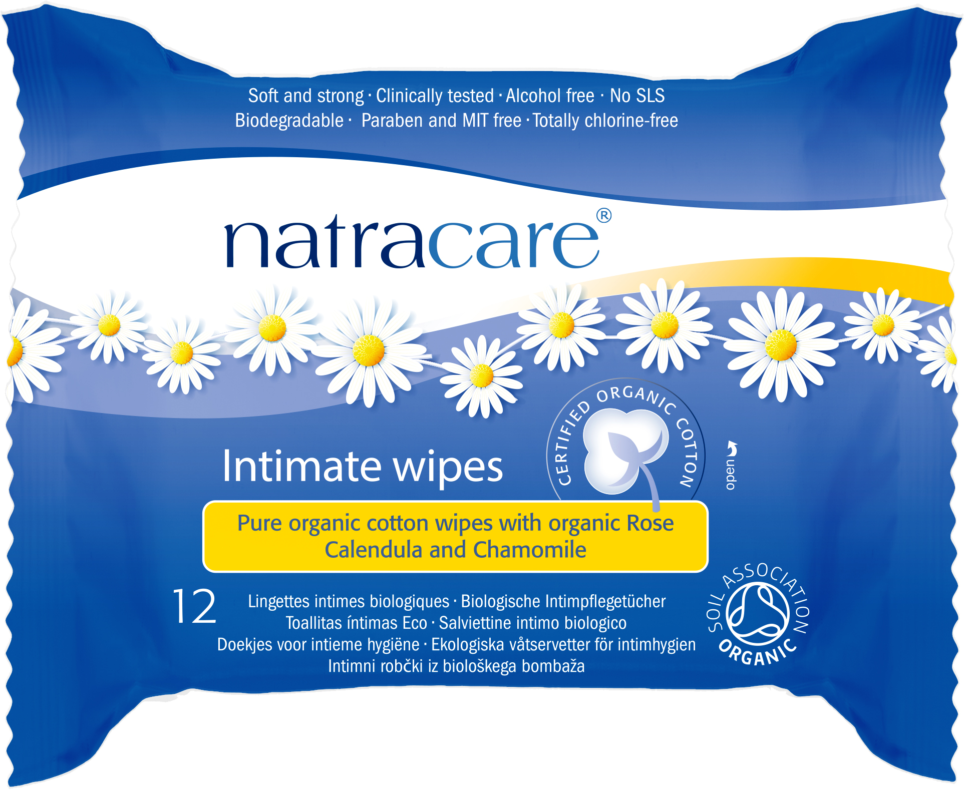 Natracare Everyday Intimate Wipes