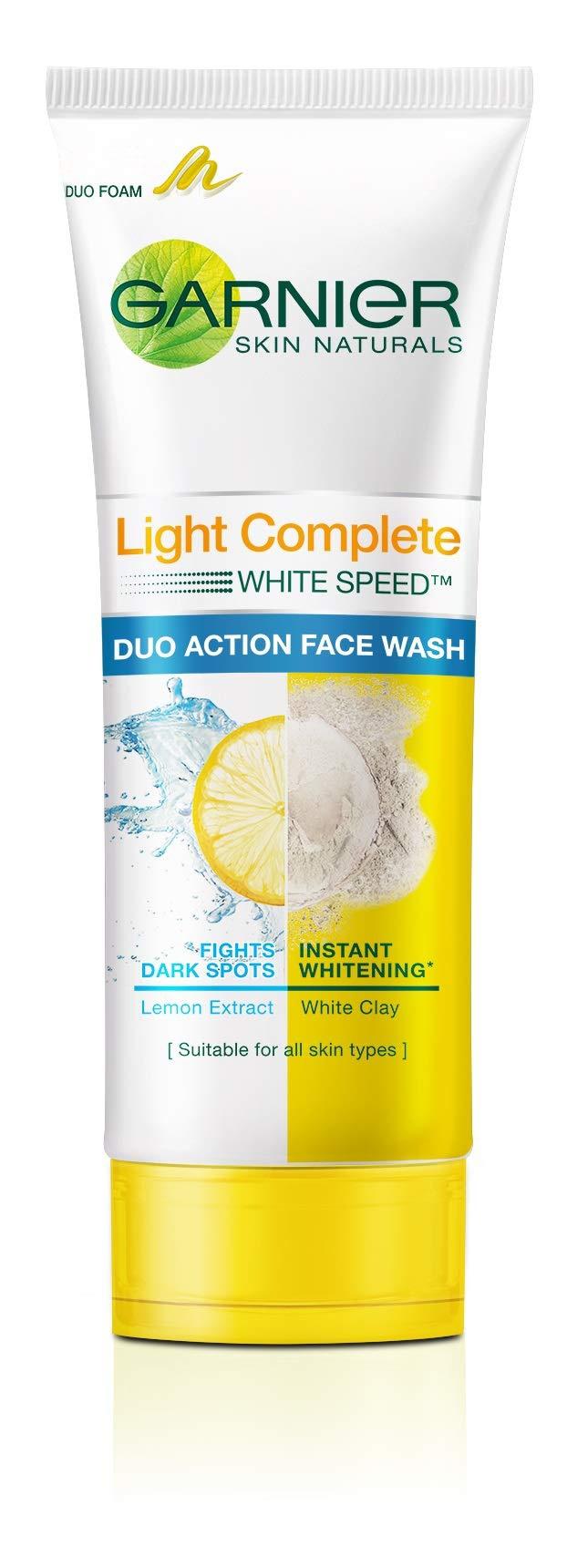 Garnier Light Complete Duo Action Facewash