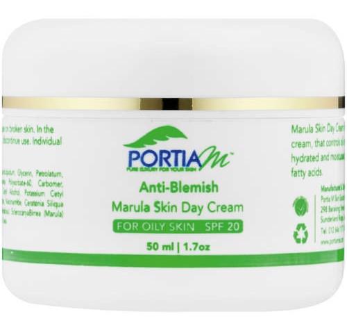 Portia M Anti Blemish Marula Skin Day Cream