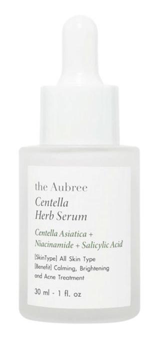 the Aubree Centella Herb Serum Unscented