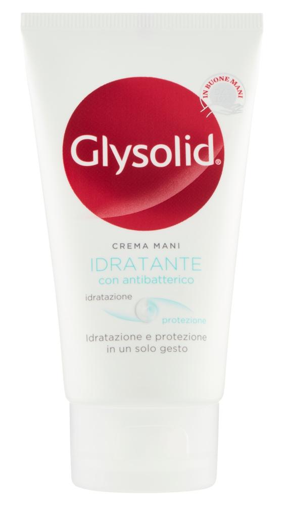 Glysolid Crema Mani Idratante Con Antibatterico