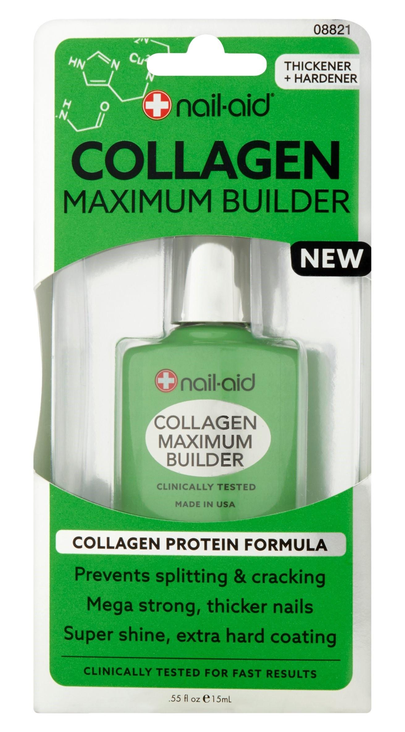 Nail Aid Collagen Maximum Builder