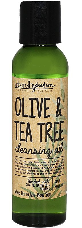 Urban Hydration Olive & Tea Tree Cleansing Oil