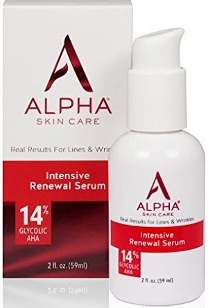 Alpha Skin Care Intensive Renewal Serum, 14% Glycolic Aha