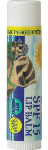 Badger Clear Zinc Oxide Sunscreen Lip Balm