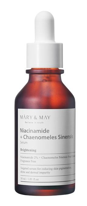 MARY & MAY Niacinamide + Chaenomeles Sinensis Serum