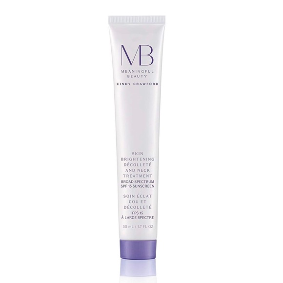 Meaningful Beauty Skin Brightening Decollete And Neck Treatment Broad Spectrum Spf 15