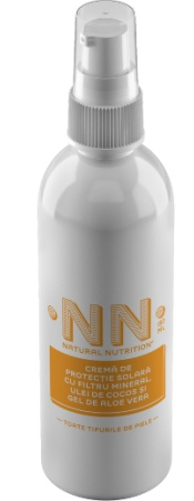 NN Natural Nutrition Sun Protection Cream For Body And Face With Mineral Filter, Coconut Oil And Aloe Vera Gel Spf 30 (150 Ml)