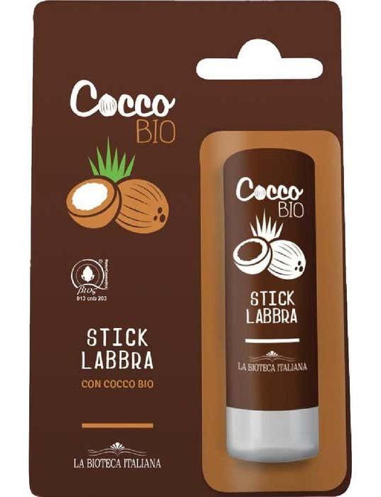 La bioteca italiana Bio Coconut Lip Balm