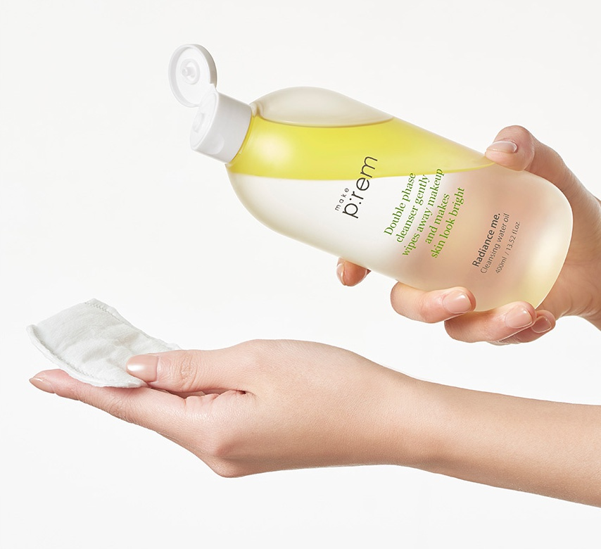 Make P:rem Radiance Me. Cleansing Water Oil