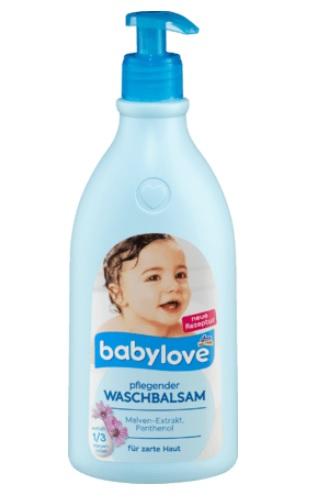 Babylove Pflegender Waschbalsam