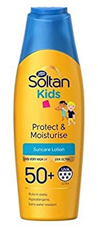 Soltan Kids Protect & Moisturise Spf50+