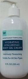 Trader Joe's Hydrating Hyaluronic Body Gel Cream