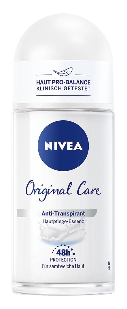 Nivea Deo Roll On Antitranspirant Original Care