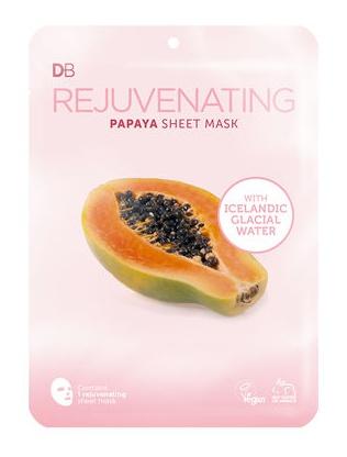 Designer Brands Rejuvenating Papaya Sheet Mask With Icelandic Water