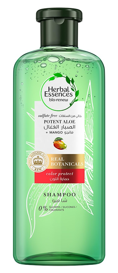 Herbal Essences Bio Renew Sulfate Free Shampoo With Potent Aloe + Mango