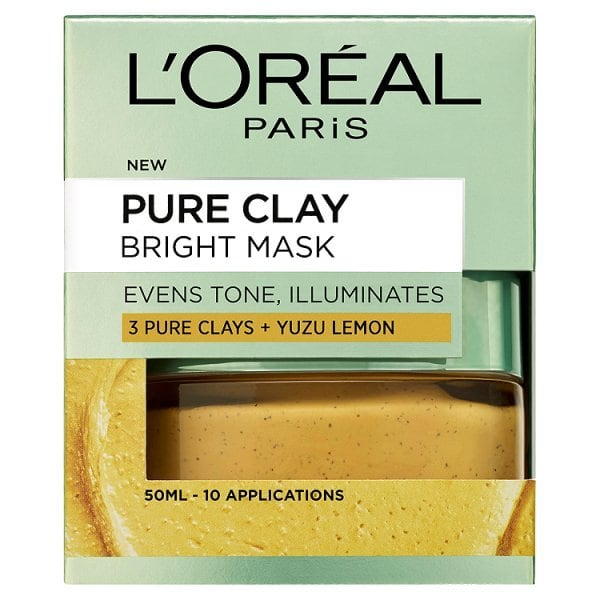 L'Oreal Paris Pure Clay | Bright Mask | Yuzu Lemon