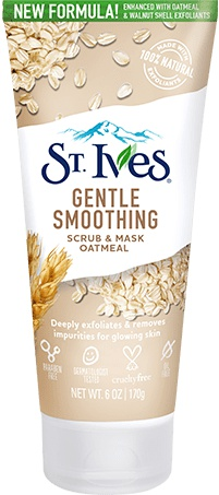 St Ives Gentle Smoothing Scrub And Mask Oatmeal