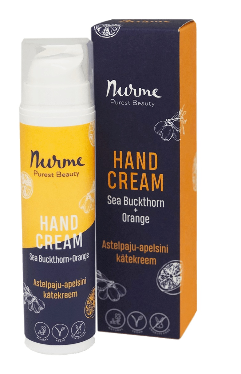 Nurme Rich Cream Sea-Buckthorn + Orange