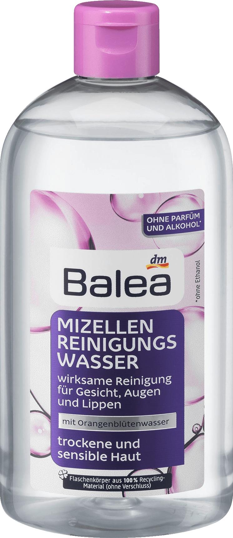 Balea Mizellen Gesichtsreinigungswasser - Trockene Haut
