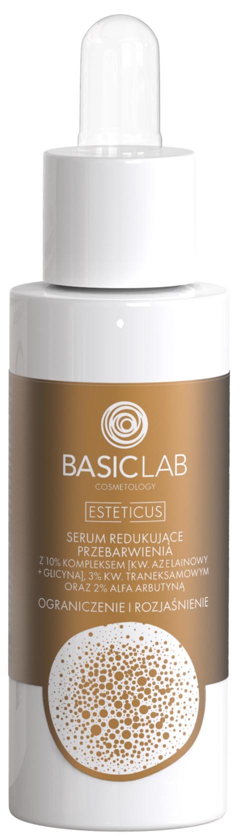 Basiclab Serum Redukujące Przebarwienia Ograniczenie I Rozjaśnienie