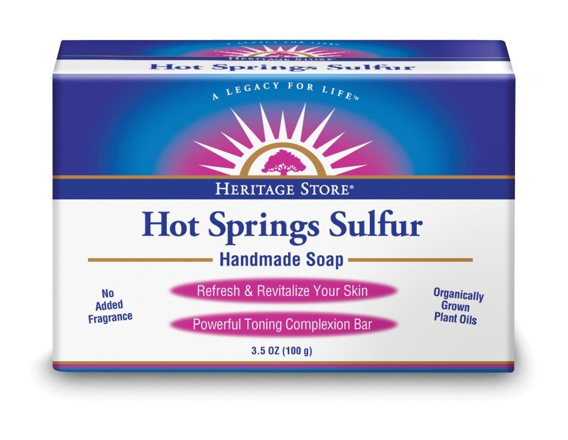 Heritage Store Hot Springs Sulfur Soap