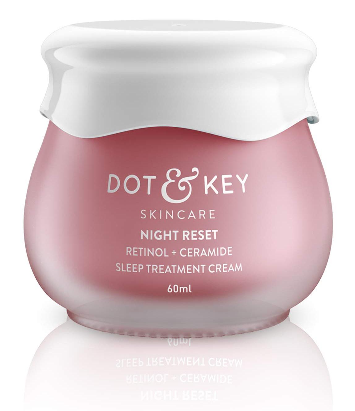 Dot & Key Night Reset Retinol + Ceramide  Sleep Treatment Cream