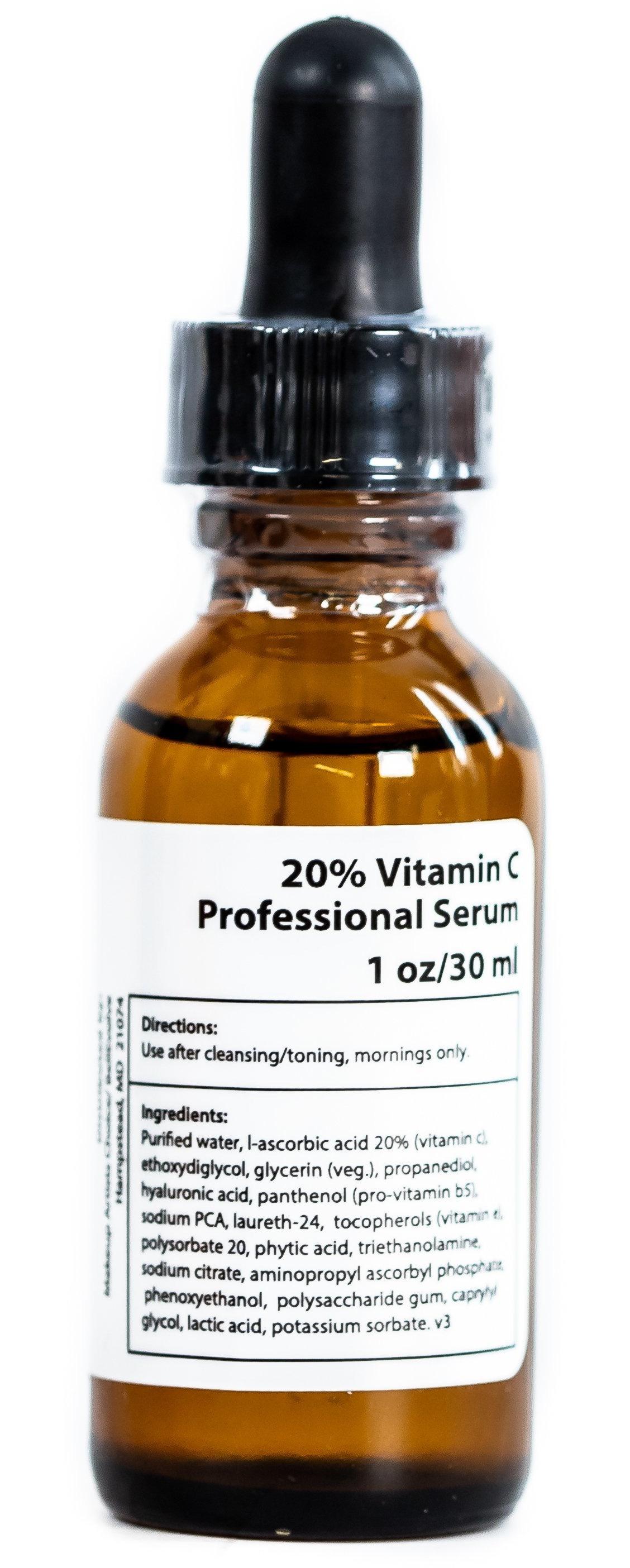 MUAC 20% Vitamin C Serum With Phytic Acid - High Potency