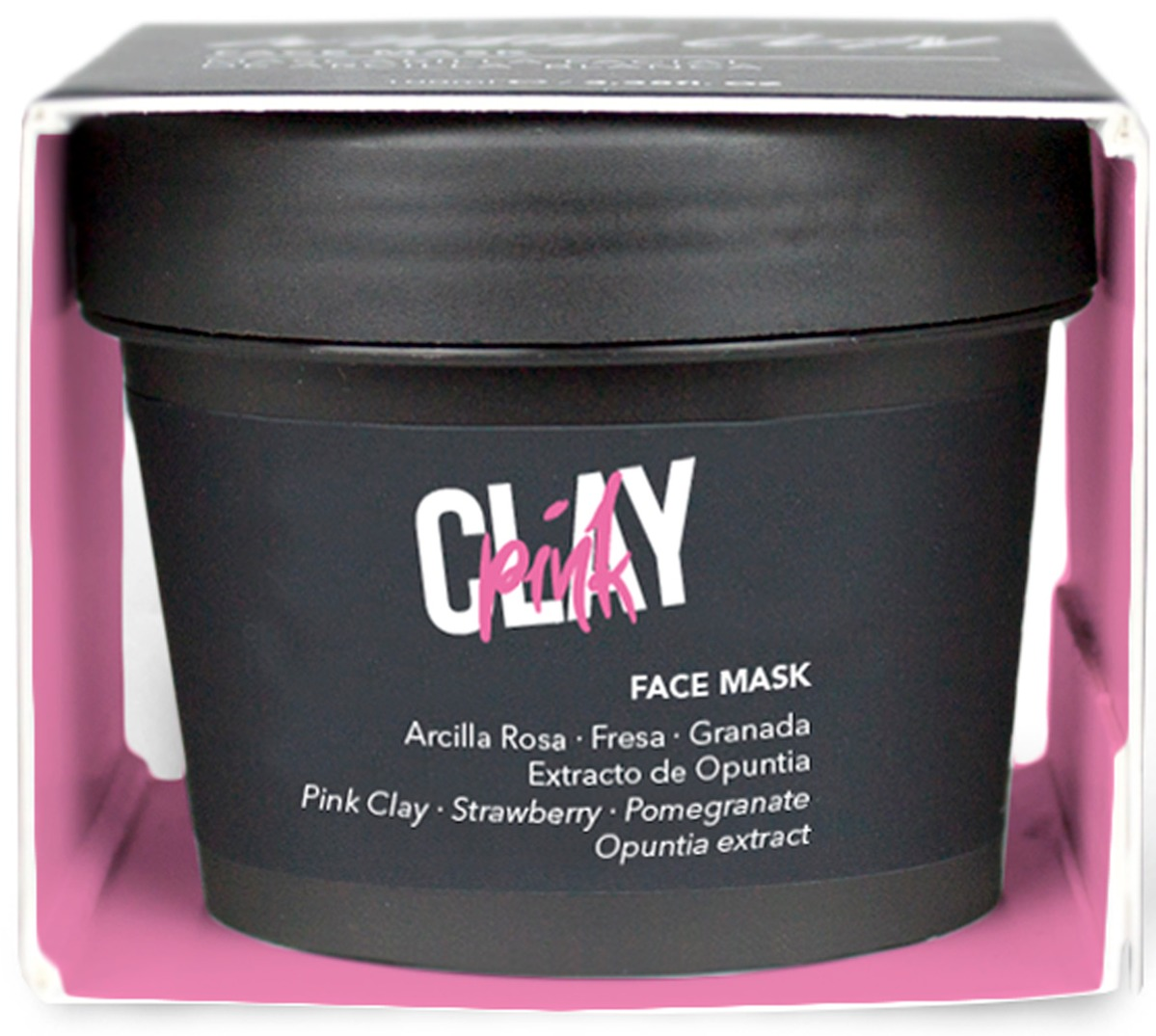 Fancy Handy Face Mask Pink Clay