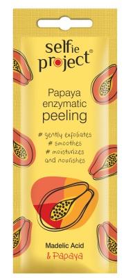 Selfie Project Enzyme Peeling With Papaya