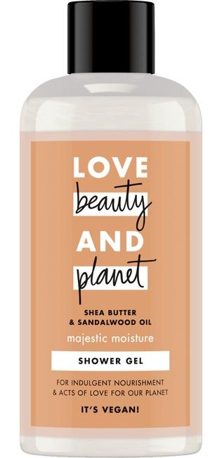 Love Beauty & Planet Majestic Moistur Shea Butter and Sandelwood oil Shower Gel