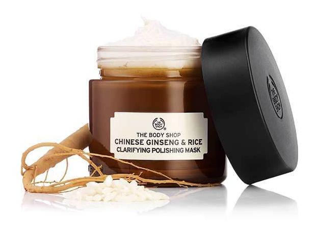 The Body Shop Chinese Ginseng & Rice Mask (Old)