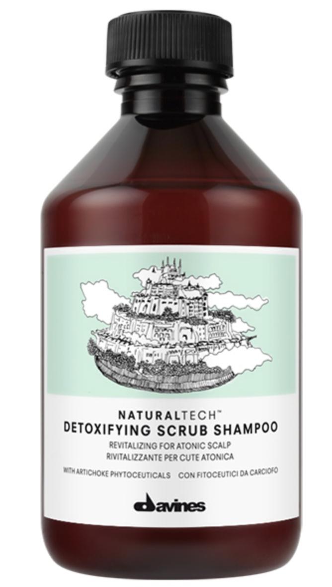 Davines Natural Tech Detoxifying Scrub Shampoo