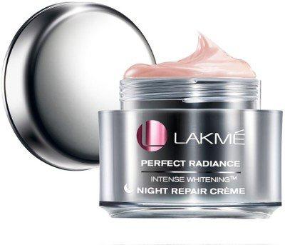 Lakme Perfect Radiance Intense Whitening Night Repair Cream