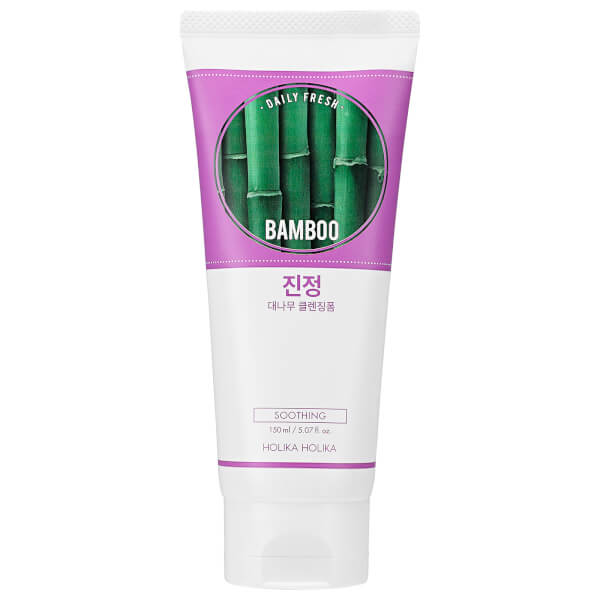 Holika Holika Daily Fresh Bamboo Cleansing Foam
