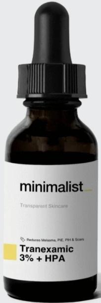Be Minimalist Tranexamic 3% + HPA