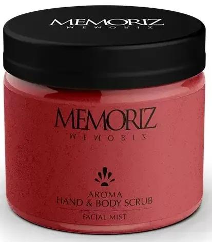 Memoriz Aroma Hand & Body Scrub Facial Mist