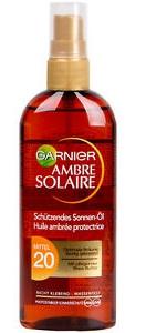 Garnier Ambre Solaire Sun Protective Oil Lsf 20