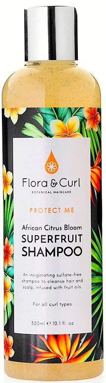 Flora & Curl African Citrus Superfruit Shampoo