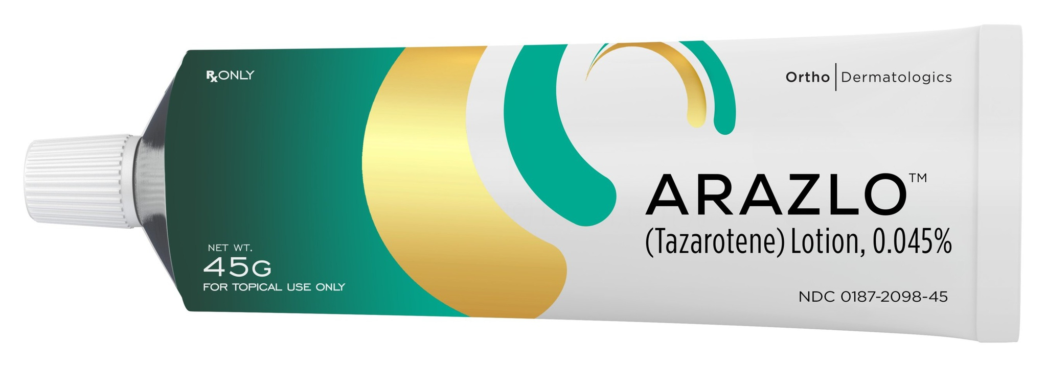 Ortho Dermatologics ARAZLO® (tazarotene) Lotion, 0.045%