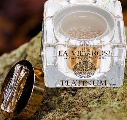 La vie en rose Platinum Serum With Pearls