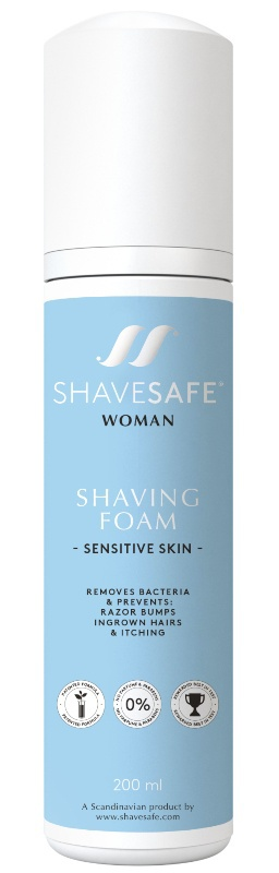 ShaveSafe Woman Shaving Foam