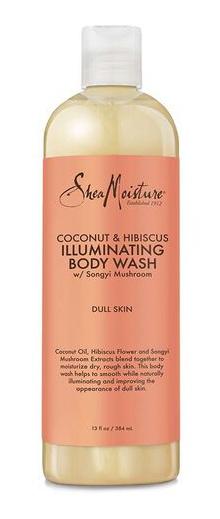 SheaMoisture Coconut & Hibiscus Illuminating Body Wash