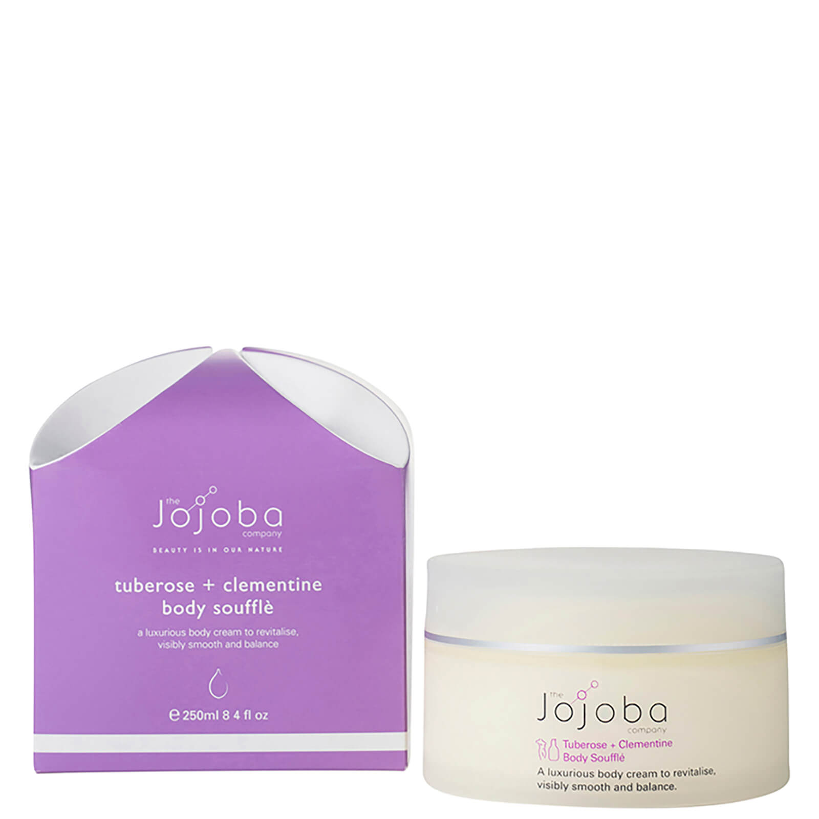 The Jojoba Company Tuberose And Clementine Body Souffle