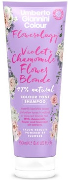Umberto Giannini Flowerology Violet + Chamomile Flower Vegan Blonde Shampoo