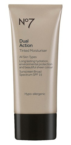 No7 Dual Action Tinted Moisturizer Spf 15